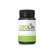 CBDLife 750mg CBD + CBDa Raw Hemp Extract Capsules 30 Caps