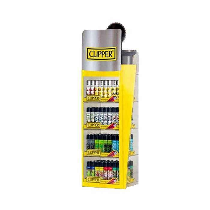 Clipper 5 Tier Filled Display - 240 Mixed Design Lighters - CL31048UK8