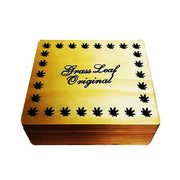 Grass Leaf Original Large Wooden Storage Box