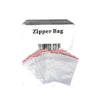 5 x Zipper Branded 55mm x 75mm  Clear Baggies