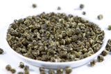 Loose leaf healthy green tea jasmine pearls from fujian