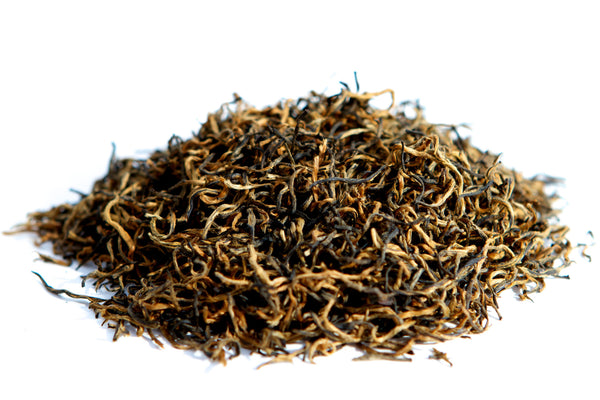 Loose leaf red black tea jinjunmei from tanyang fujian china