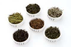 Loose leaf tea samples from china fujian and taiwan