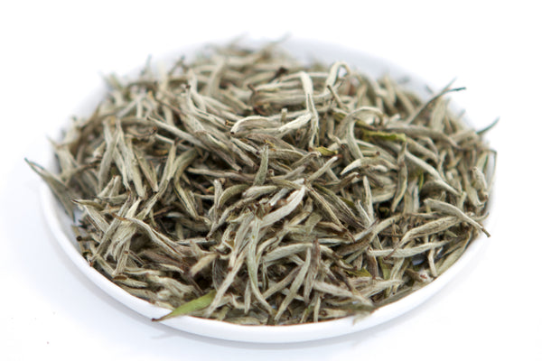 Loose leaf white silver needle tea from fujian china