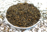 Tray of loose leaf high mountain black tea from fujian china_1