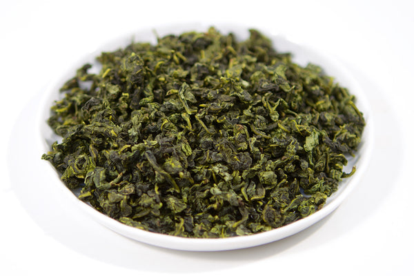 Tray of loose leaf tgy tieguanyin iron bodhisattva oolong tea from fujian