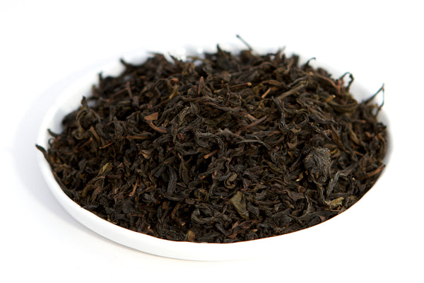 Tray of oolong tea dahongpao from wuyi fujian