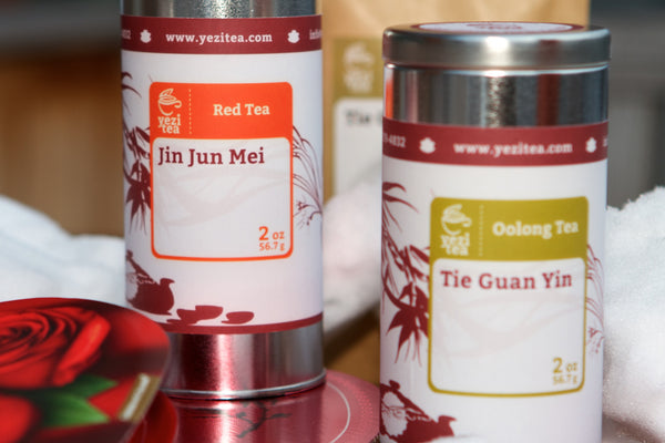 Yezi tea package valentines day