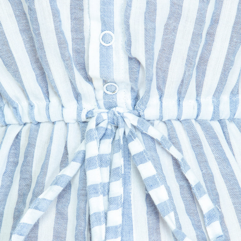 THE WALK IN THE PARK - Woven Stripe blue/white