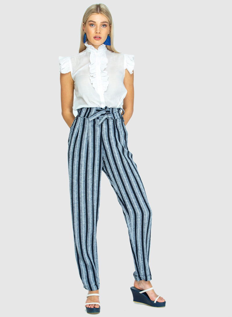 BOARDWALK LINEN PANTS BIG BLUME