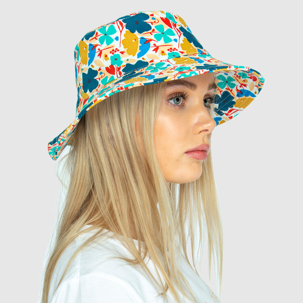 THE BUCKET HAT - Blume small. PRE ORDER NOW