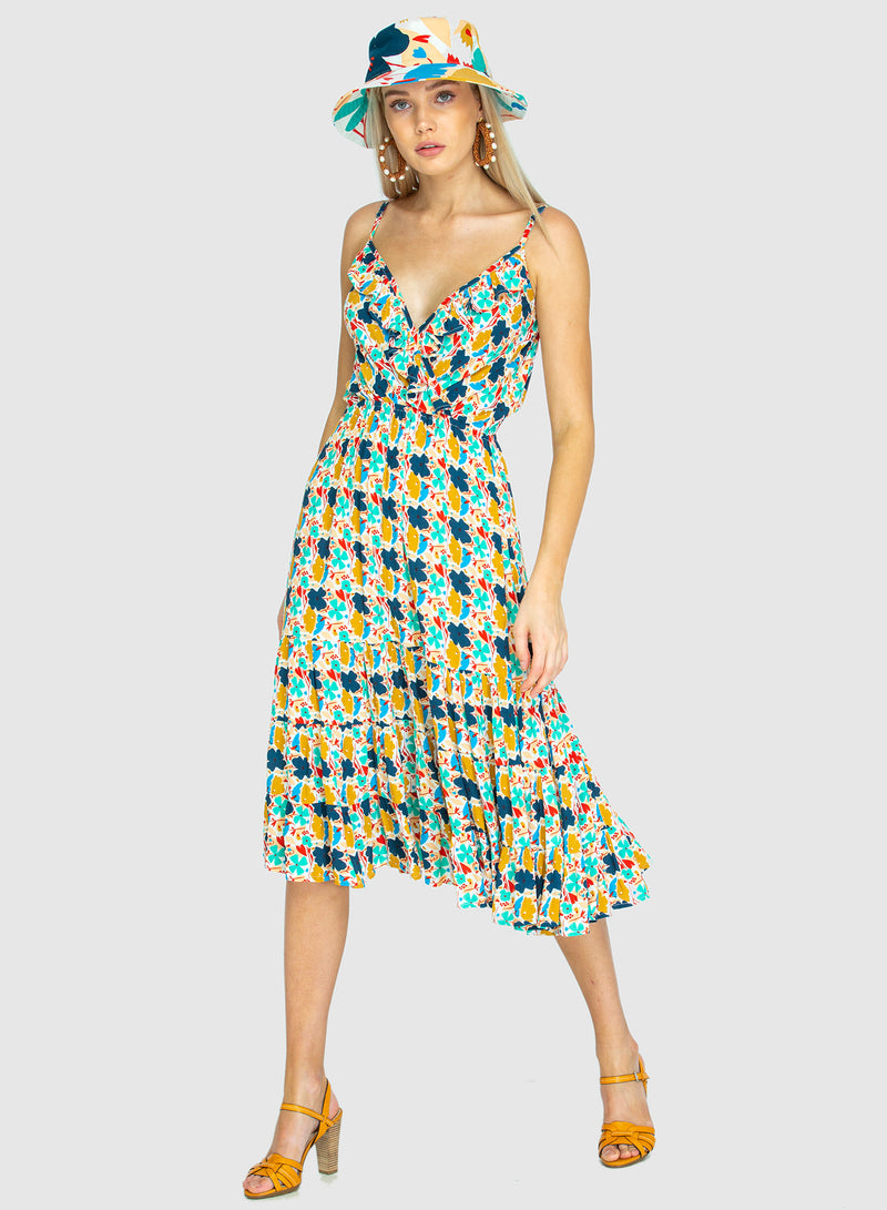 THE GEORGIA ORIGINAL BEACH DRESS - Blume small