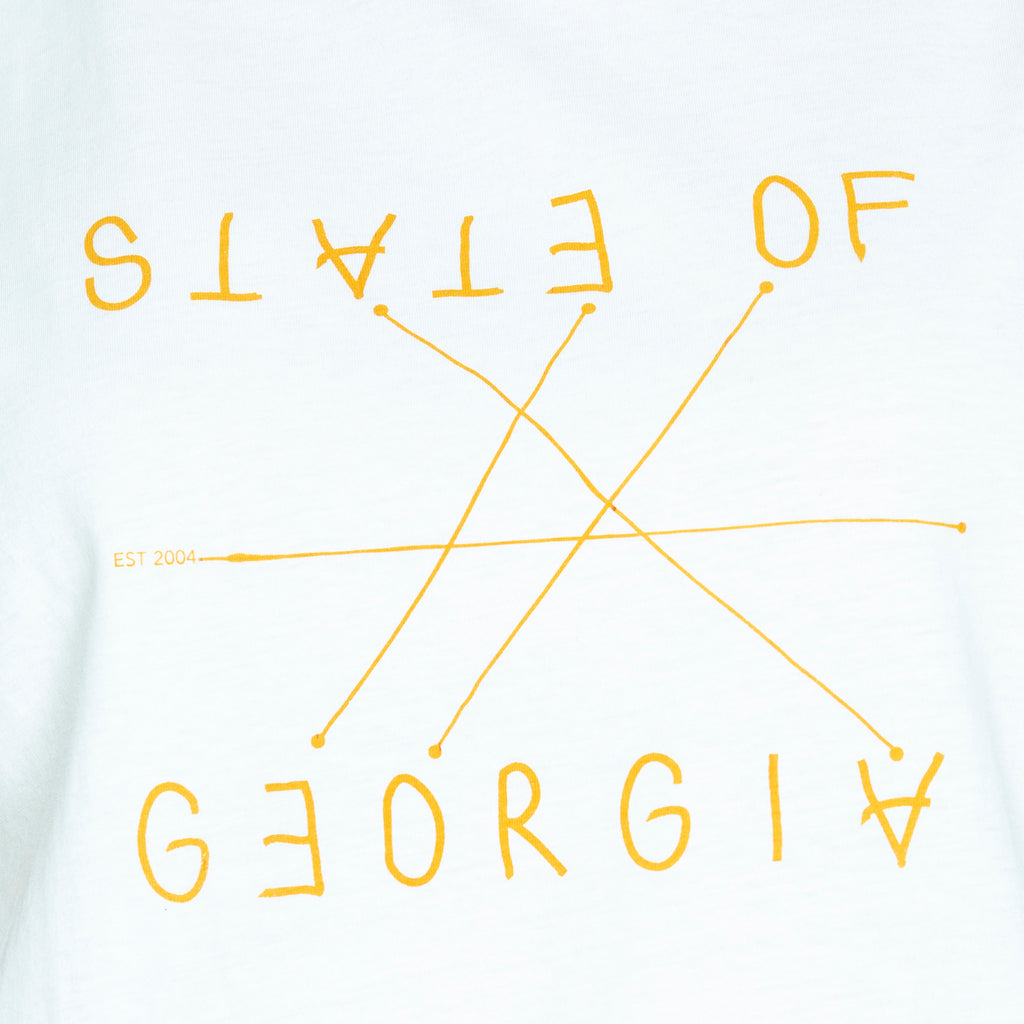 STATE OF GEORGIA T SHIRT - Deep yellow