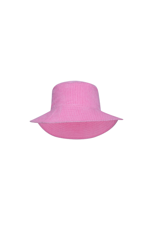 THE CORDUROY HAT - PINK
