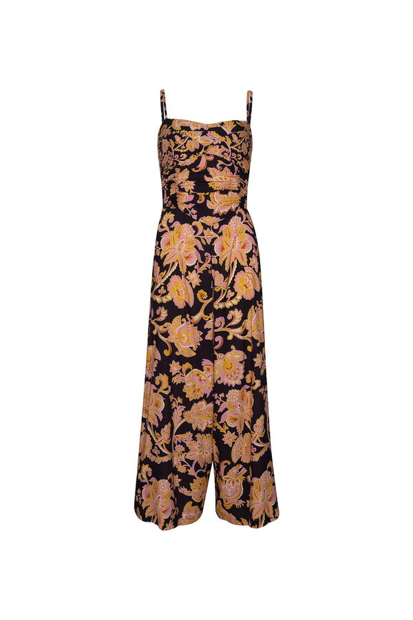 THE KITE ELASTIC JUMPSUIT - PAISELY NAGA