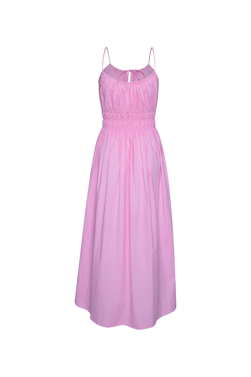 THE SUNRISE ELASTIC DRESS - PINK
