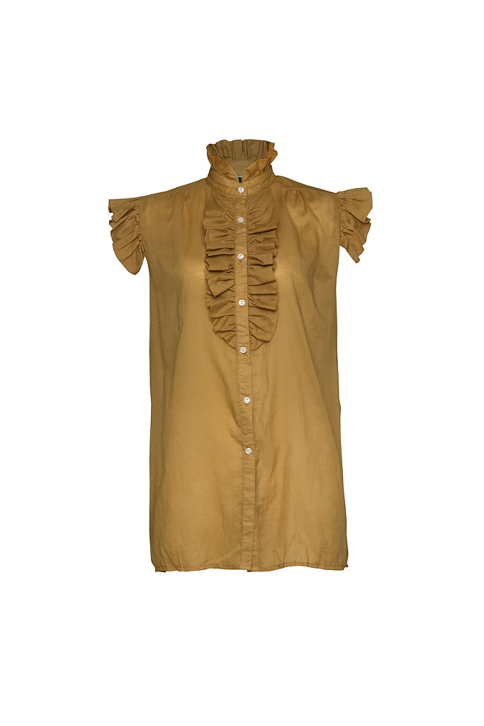 BUOY COTTON SHIRT - Rust