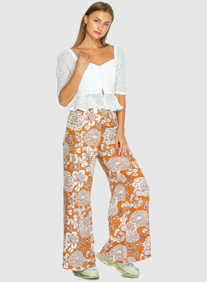 BOARDWALK LINEN PANTS - Big Blume