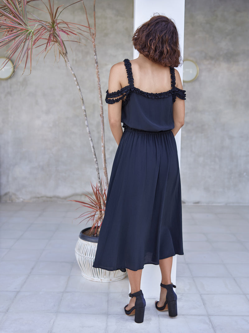 THE WALLFLOWER DRESS BLACK