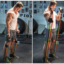 Load image into Gallery viewer, Resistance Bands Fitness Set - El Sanar