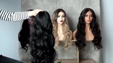 Load image into Gallery viewer, Curly Long Wavy Natural Black Color Wig (Limited stock)