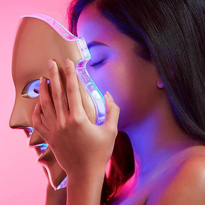 LED Photon Beauty Mask | 7 Color Photon Rejuvenation Mask - El Sanar