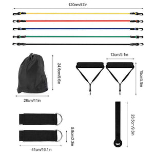 Resistance Bands Fitness Set - El Sanar