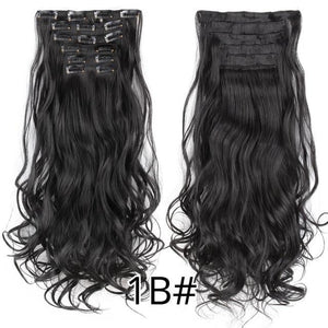 CURLY HAIR EXTENSIONS, 22inch - El Sanar