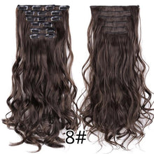 Load image into Gallery viewer, CURLY HAIR EXTENSIONS, 22inch - El Sanar