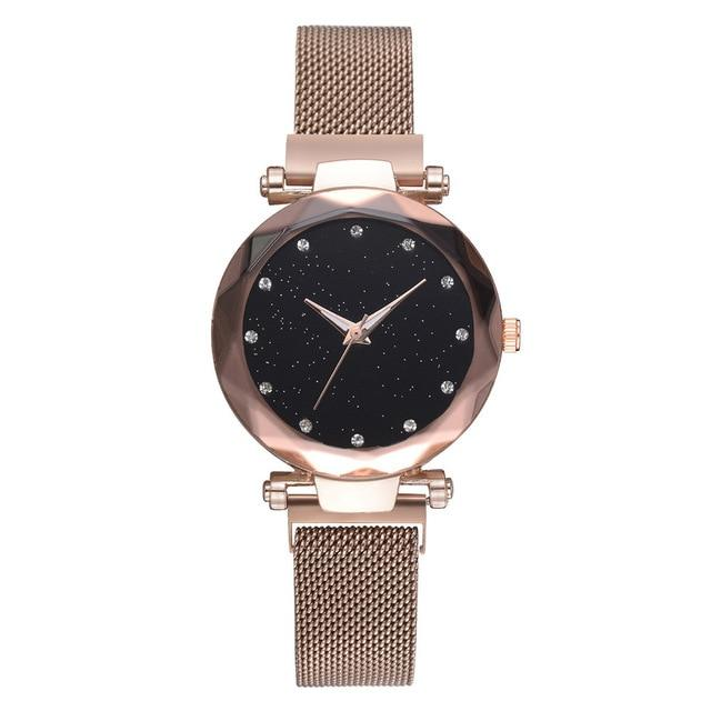 Ladies Watch, Magnetic Starry Sky  Luxury Watch - El Sanar