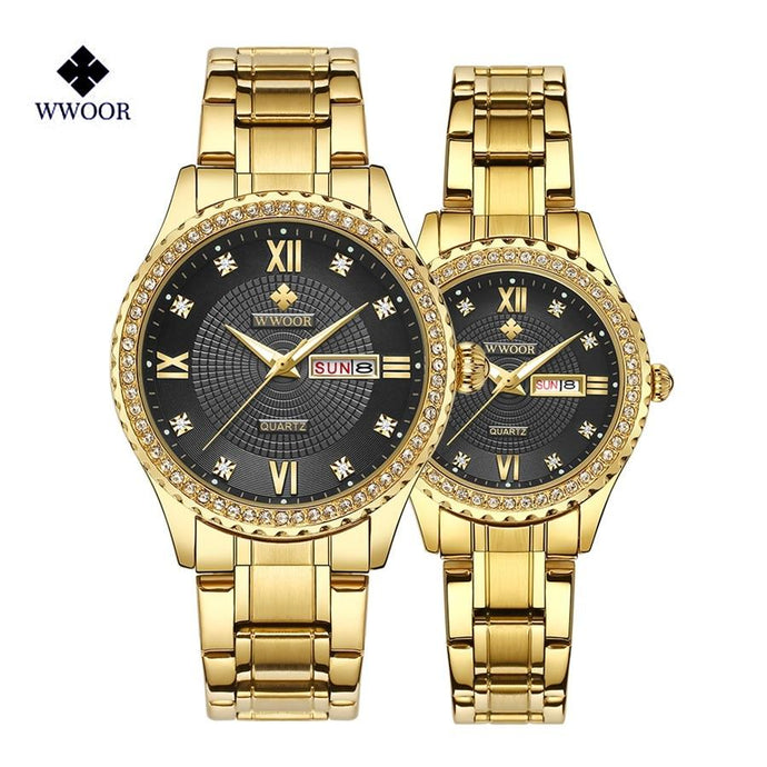 Luxury Couple Lovers Watches - El Sanar