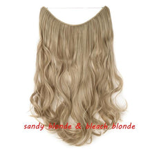 Load image into Gallery viewer, Invisible Halo Hair Extensions, 20 inch (50 cm) - El Sanar