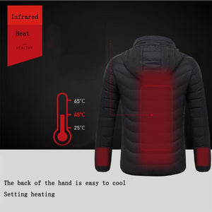 Smart USB Electric Heating Jacket - El Sanar