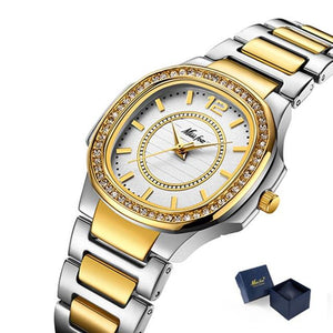 Elegant Gold Plated Ladies Watch - El Sanar