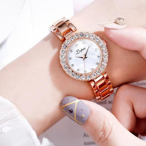 Luxury Bracelet Watch Set For Women - El Sanar