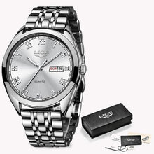 Load image into Gallery viewer, Men's Watch In Stainless Steel - El Sanar