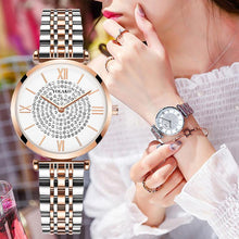 Load image into Gallery viewer, Diamond Design Women Watches - El Sanar