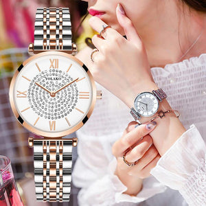 Diamond Design Women Watches - El Sanar