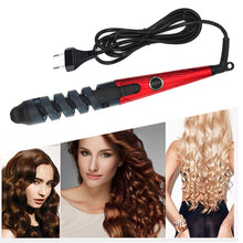 Load image into Gallery viewer, Professional Spiral Ceramic Curling Iron