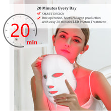 Load image into Gallery viewer, 7 Colors LED Skin Rejuvenation Mask