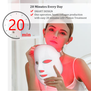 7 Colors LED Skin Rejuvenation Mask