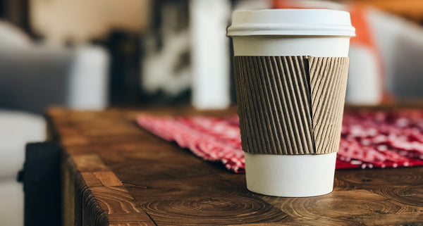Cardboard coffee cups aren't recyclable