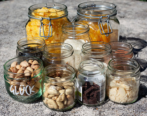 reusable jars are a great addition to have in the kitchen