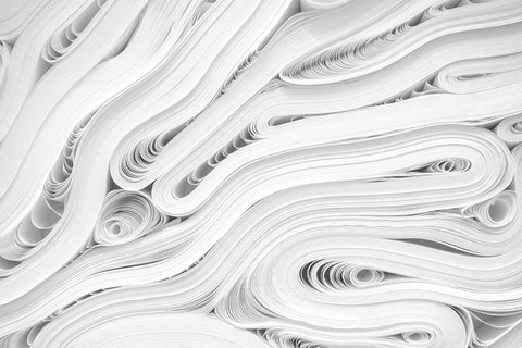 406 million metric tonnes of paper are produced every year