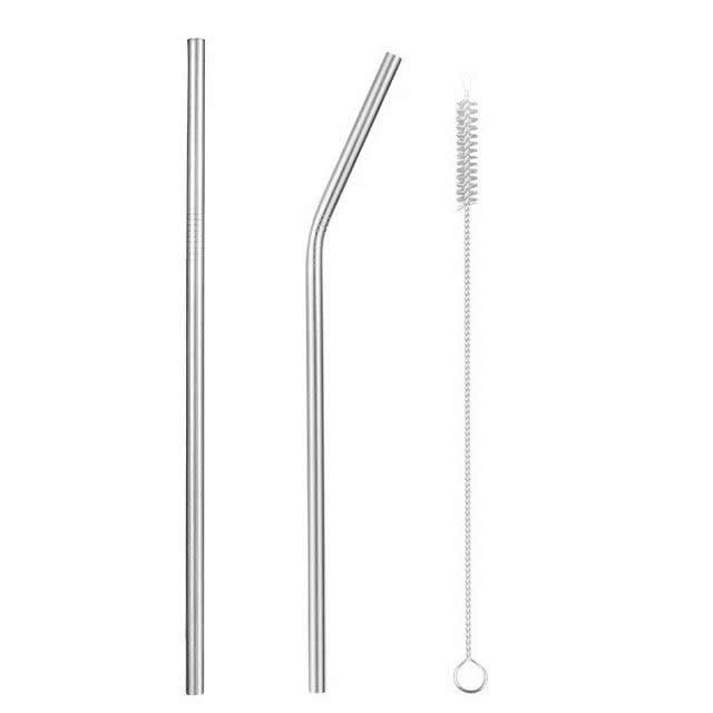 Reusable Stainless Steel Straws - The Eko Company