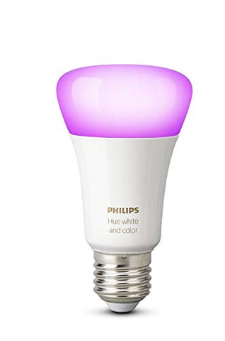 Philips Hue Ampoule E27 Connectée White and Color Compatible HomeKit