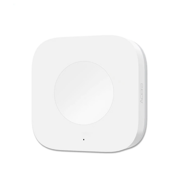 Bouton connecté Aqara de face homekit