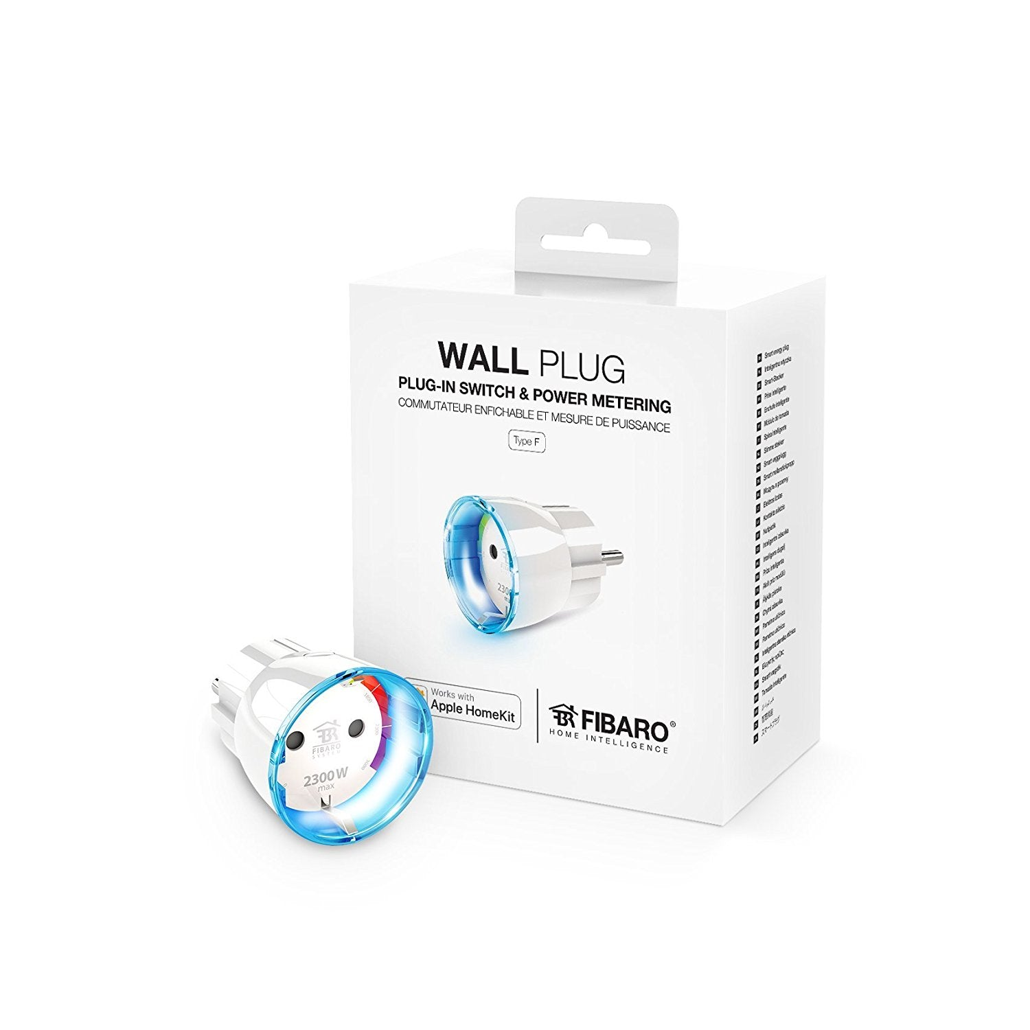 Fibaro Prise Connectée Bluetooth Compatible Homekit