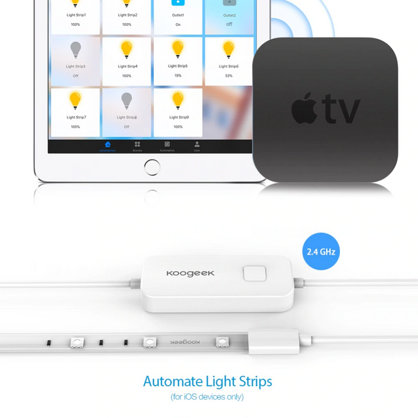 Ruban lumineux Koogeek LED Apple TV homekit
