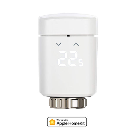 Eve Thermo- Vanne de radiateur thermostatique Connecté Bluetooth Compatible Homekit
